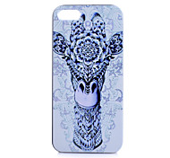 Giraffe Pattern PC Material Phone Case for iPhone 5C
