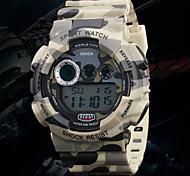 orologi svaghi Sport orologio impermeabile mimetico militare degli uomini