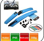 Bike Fenders ( silbrig/Rot/Blau , ABS ) - für  Andere