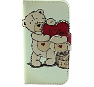 Cubs Pattern PU Leather Phone Case for Samsung Galaxy J1