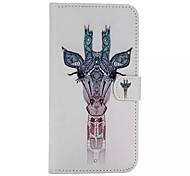 Giraffenmuster mit Diamanttelefonkasten für iphone 6