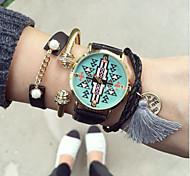 Fashion Aztec Women Watch Leisure Students Wrist Watch Quartz Watch