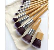 10 Set di pennelli Pennello di nylon Ecologico Altro