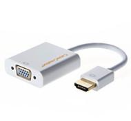 cablecreation, 1080p adaptador vga hdmi, hdmi macho a VGA hembra de video cable adaptador convertidor de audio