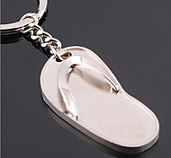 flip flops stainless steel useful key ring