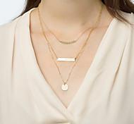 Fine Simple Delicate Layering Necklaces,Layering Necklaces,Bar Necklace,Gold Necklace Clavicle Necklace