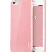 ESR® Yippee Colour Series Perfect Fit Ultra Thin Light Weight Soft TPU Bumper Case for iPhone 6-Pink