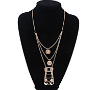 HUALUO®Europe and America Unique Multi-Spoon Necklace