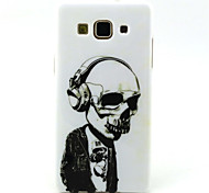 Earphone skeleton Pattern TPU Soft Case for Galaxy A5/Galaxy A3
