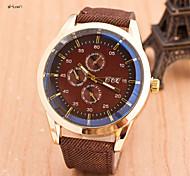 Herrenmode Quarz anolog Sport-Armbanduhr (farbig sortiert)