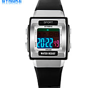 Kinder Sportuhr digital LED / Chronograph / Wasserdicht / Sportuhr PU Band Marke-