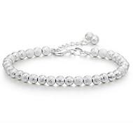 Matte Silver Bracelet Silver 925 Jewelry