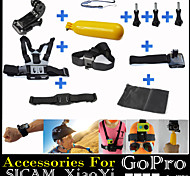 11pcs In 1 Gopro Accessories Mount / Straps / Bags/Case / Accessory Kit ForGopro Hero 2 / Gopro Hero 3 / Gopro Hero 3+ / All Gopro /