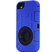 Three Anti-,Waterproof,Drop Resistance,Dustproof Phone Sets Silicone Case Protect For iPhone 5/5S(Assorted Color)