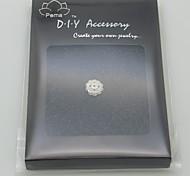 DIY Silver Charm Accessory-Lotus Fruit