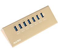 Maiwo KH107 USB3.0 7port USB Hub with 1 Smart Charger port