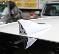 Shark Antenna LED Light Solar Power Car Auto Flash Warning Alarm Tail Light Shark Fin Style Antenna Tail Warning Light