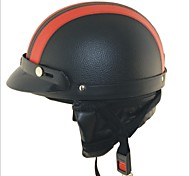 Carking XT02 Motorcycle PU Leather Helmet  (M)