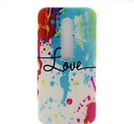 Paint Pattern TPU Soft Cover Case for Motorola MOTO G3 3rd Gen