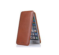 DE JI Luxury Genuine Leather Case Cover With Card Holder Flip wallet Cases for iphone6 Phone Bags