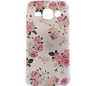 Rose Flower Pattern PC Hard Back Cover Case for Samsung Galaxy J1/G530/G360/G386f