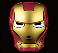 Cool Children Kids LED Iron Man Mask Halloween Props For Halloween Party 1 PC