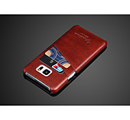 PU Leather Oil Wax Cover Case for Sumsung  Galaxy Note 5