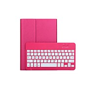 Removable Rotatable Bluetooth Keyboard Leather Case Cover Shell for iPad Air(Assorted Colors)