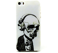 Ghost Pttern TPU Soft Case for iPhone 5/5S