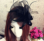 Rose Veil Headband Fascinator for Party Hair Jewelry