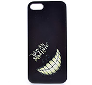 Tooth Pattern PC Phone Case For iPhone 5/5S