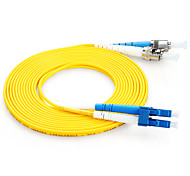 shengwei® st (upc) -lc (upc) latiguillo de fibra de doble núcleo simple 3m / 5m / 10m
