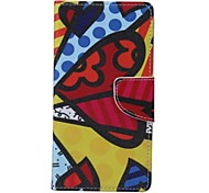 Painted PU Phone Case for Galaxy Xcover 3/J2