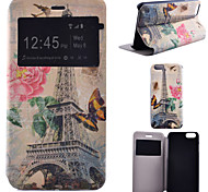 Tower Pattern Bracket Models All Inclusive Phone Case for iPhone 6/6S