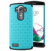 Bling Star Crystal Rhinestone Diamond Case Original Protector Back Cover for LG G4(Assorted Colors)