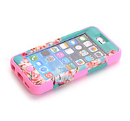 3-in-1 Design Nationality Pattern Protective Hard Case Mobile phone for iPhone5C Assorted Color