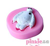 Super Big White Corps  Fondant Cake Cake Chocolate Silicone Molds,Decoration Tools Bakeware