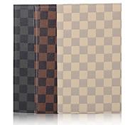 Modello di griglia caso 7.9 pollici ad alta qualità cuoio dell'unità di elaborazione per ipad mini 4 (colori assortiti)