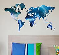 planeta mapa mundo adesivos de parede arte decalques