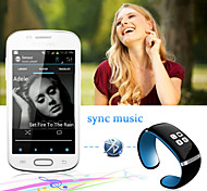 Smart Wristband L12S OLED Bluetooth Bracelet Wrist Watch Design for IOS  Android Phones Wearable Electronic