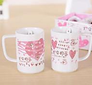 Environmental Protection Printed Ceramic Tea Set