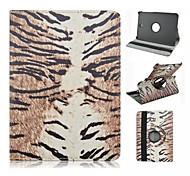 Leopardkorn-Muster PU-Leder Ganzkörper-Fall mit Standplatz für Samsung Galaxy Tab 8.0 s2 T715 / Tab s2 9,7 t815