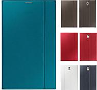 venta caliente caso de la cubierta de cuero de la tableta ultra delgado para samsung galaxy tab s 8,4 pulgadas t700 / tab s 10,5 pulgadas
