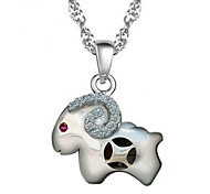 WH Woman Money Sheep Necklace