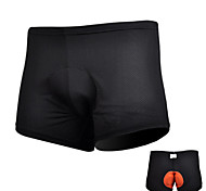 Black Bike Cycling Shorts Padded Coolmax Bicycle Briefs Riding Underpants Underwear S-3XL