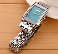 reloj de cuarzo de moda relojes de pulsera impermeable de mujer