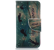 Angel Pattern PU Leather Full Body Case for iTouch 5