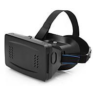 """papelão realidade de telefonia móvel virtual VR óculos 3d jogos filmes 3D com lentes de resina para 3,5 """"para 5,5"""" smartphones"""