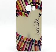 Pencil Love Pattern TPU Soft Case for Samsung Galaxy  S6 Edge Plus