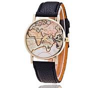 reloj de moda mapamundi Relogio mujeres feminino relojes mujer relojes de cuarzo reloj